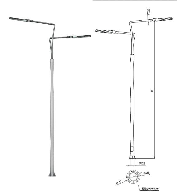 aluminum-light-pole-M-LB